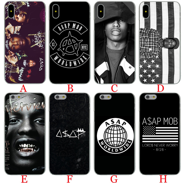 promo code c063c 428f8 A107 A$AP Asap Rocky Lord Flacko Hard Phone Shell Case for Apple iPhone 8 7  6 6s Plus 5 5S SE 5C 4 4S 10 Cover for iPhone X XR XS Max Cases