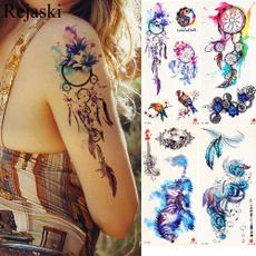 tattoo, art, Waist, Dreamcatcher