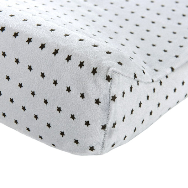 Changing Pad Cover Grey-BROLEX 2 Pack Baby Diaper Change Pad Covers-Stars /& Polka Dots Style,Changing Table Pad Covers