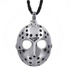 Pendant, maskpendant, Men  Necklace, punk necklace