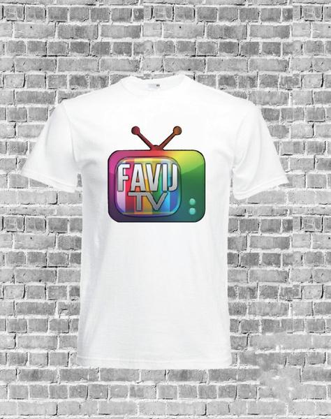 T-shirt bimbo bimba youtuber favi j favij  youtube channel unisex replica game