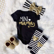 Mini, Baby Girl, babyheadband, Tops
