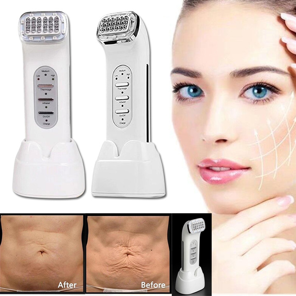 RF Radio Frequency Facial Thermage Facial Neck Wrinkle Remover Face Lifting  Skin Tightening RF Beauty Massager Real Remove Wrinkle RF Dot Beauty