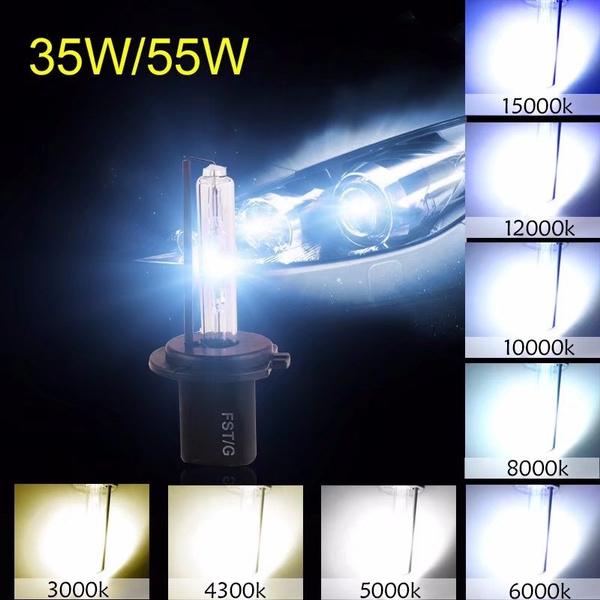 9005 9006 HID XENON Replacement Bulb Headlight 35W Lamp 2 Bulbs 4300K 5K 6K 8K