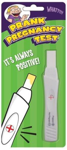 Prank Fake Pregnancy Test Tests Positive Joke Gag Wish