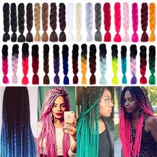 Fashion, crochetbraided, afrobulkhair, crochethairextension