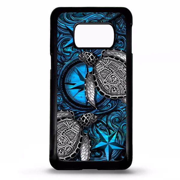 Sea turtle compass tattoo iphone X 7 8Plus 6S 6Plus 5S SE 4S 5C samsung  galaxy s4 s5 s6 s7 s8 s9 plus cover