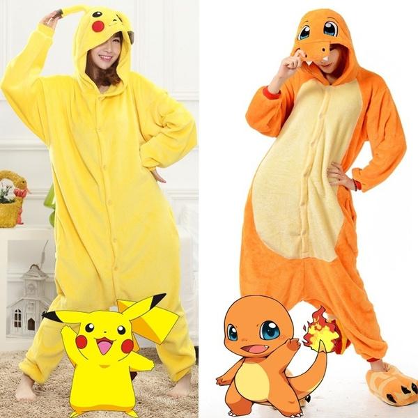 Pokemon Onesi1 Kigurumi Women Men Animal Pajamas Cosplay Costume Sleepwears-#4