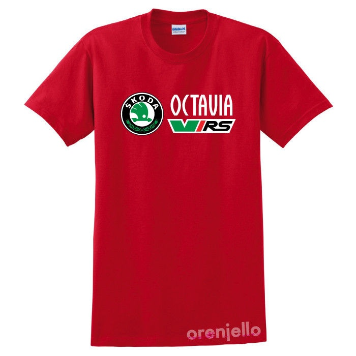 64b3004d0847 Acquista Maglietta A Manica Corta In Cotone Uomo Skoda Octavia VRS A ...