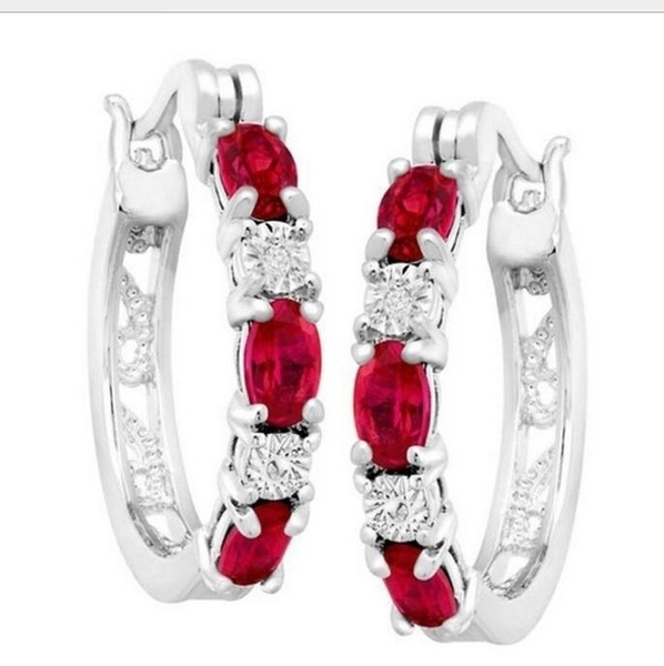 Sterling, Hoop Earring, Jewelry, Classics