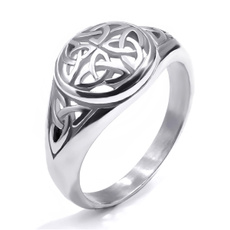 Steel, Celtic, Stainless Steel, wedding ring