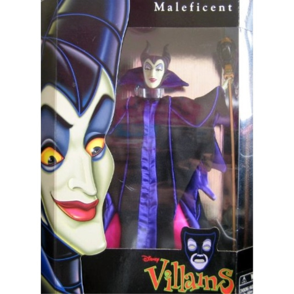 "Disney Store Authentic Maleficent Villain Toy Doll Figure 12/"" Sleeping Beauty"