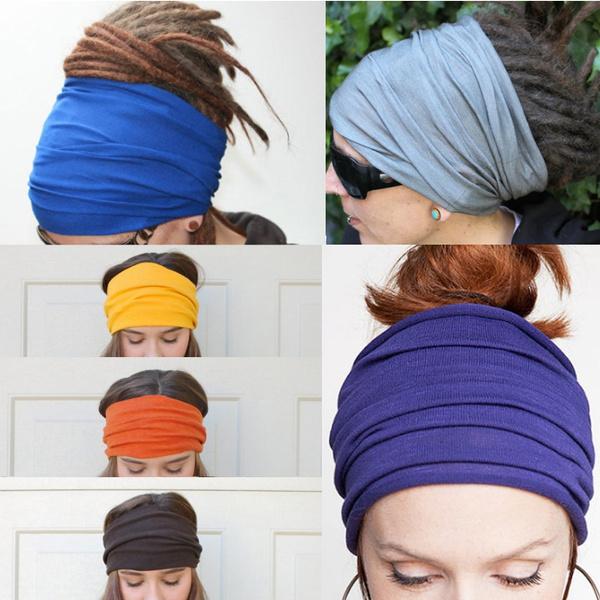 Head, Wool, Yoga, Elastic