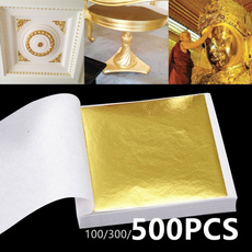 "Edible Gold Leaf Sheets 30pc M-size 24 Karat 1.2/"" X 1.2/"" Genuine for Cooking,..."