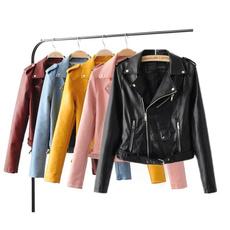 blouse, cuir, Fashion, lamodedesfemme