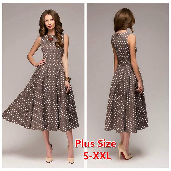 Summer, Dress, Elegant, Women's Fashion