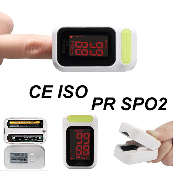 LED Fingertip Pulse Oximeter Monitor Oximetro De Dedo Pulsioximetro SPO2  Pulse Rate Health Care measure