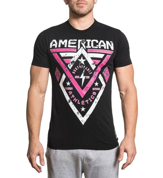 e92b0a01c29d00 American Fighter T Shirt Mens Round Neck Short Sleeves T-shirt ...