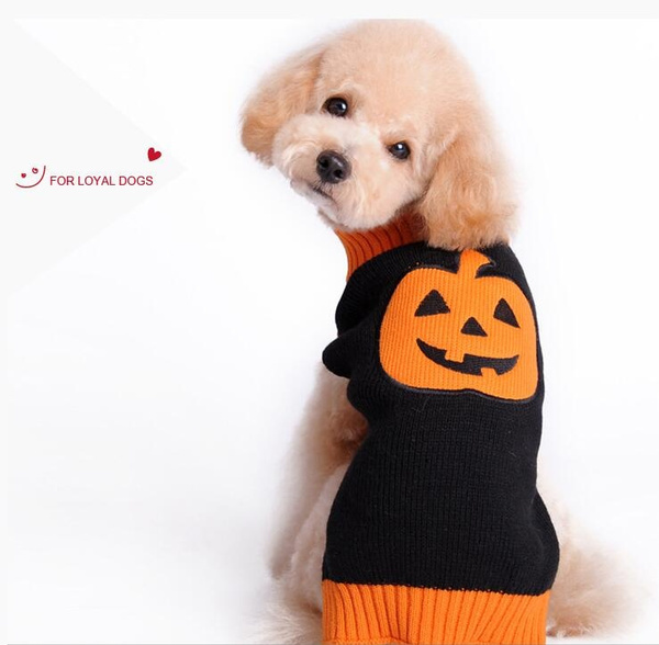 Wish Funny Halloween Dog Costume Knitted Crochet Big Large Dog