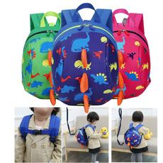 tooulderbag, Dinosaur, Backpacks, zippertooulderbag