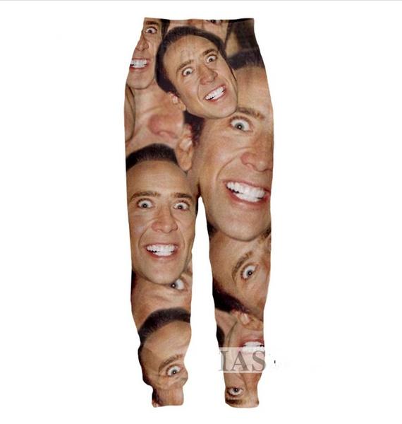 womenmen3dtrouser, Funny, fallwintermenwomentrouser, pants