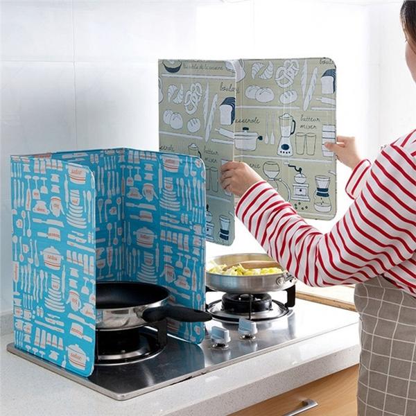 Kitchen & Dining, oilsplatterscreen, baffleplate, foilplate
