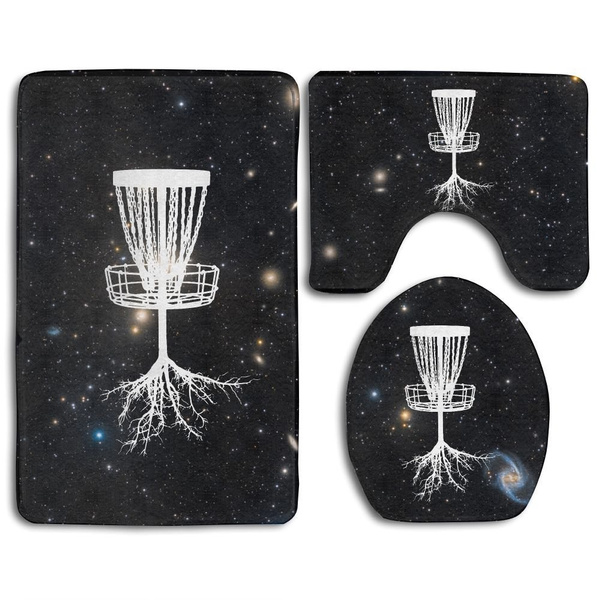 Strange Disc Golf Tree Roots Skidproof Toilet Seat Cover Bath Mat Lid Cover Evergreenethics Interior Chair Design Evergreenethicsorg