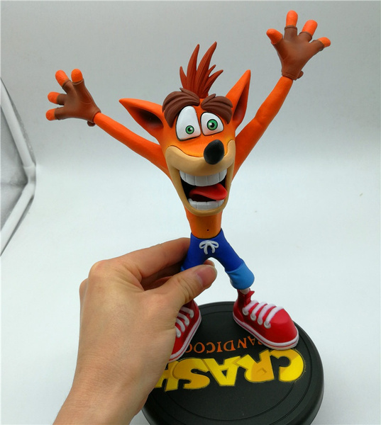 Wish Hot Sales Game Crash Bandicoot First 4 Pvc 9 Painted Statue
