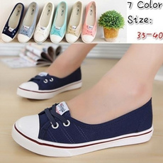 casual shoes, Summer, Slip-On, Womens Shoes
