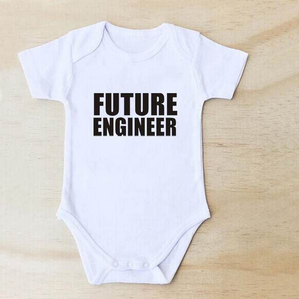 Wish | FUTURE ENGINEER Baby Clothes Toddler Newborn Welcome Home 0 ...