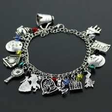 Charm Bracelet, Fashion, Princess, Chain