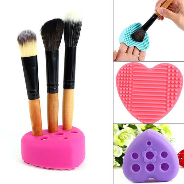 Makeup Tools, Beauty, Heart, Silicone