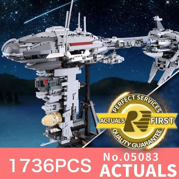 LEPIN 05083 Star Wars MOC Nebulon-B Medical Frigate LegoINGlys bricks model  building kits blocks toys for boys children gifts