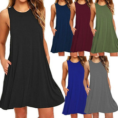Swing dress, Fashion, Tops & Blouses, Mini