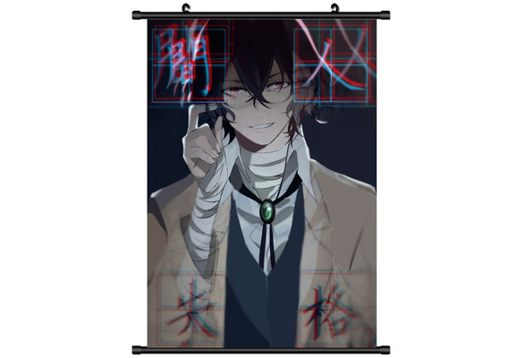 Bungou Stray Dogs Anime HD Print Wall Poster Scroll Home Decor Cosplay