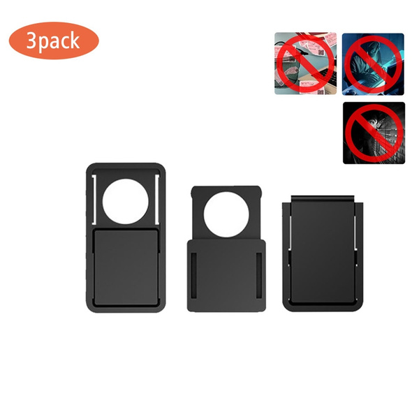 sports shoes 2370a 8ae20 3PCS/Set WebCam Shutter Magnet Slider Plastic Camera Screen Cover For Web  Laptop for iPad PC Tablet Privacy