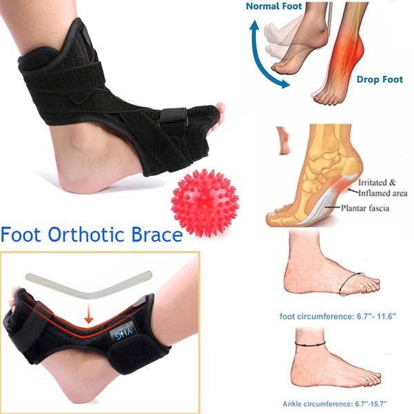 0846750b7cd29 Adjustable Plantar Fasciitis Foot Drop Brace Orthosis Dorsal Night Splint  for Relief From Plantar Fasciitis Pain, Heel, Arch Foot Pain, Achillies ...