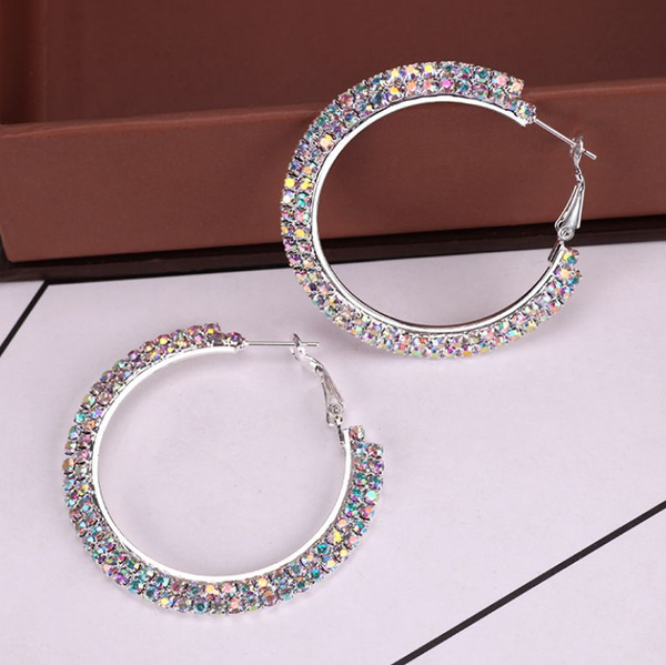 Sterling, Jewelry, Chain, Earring
