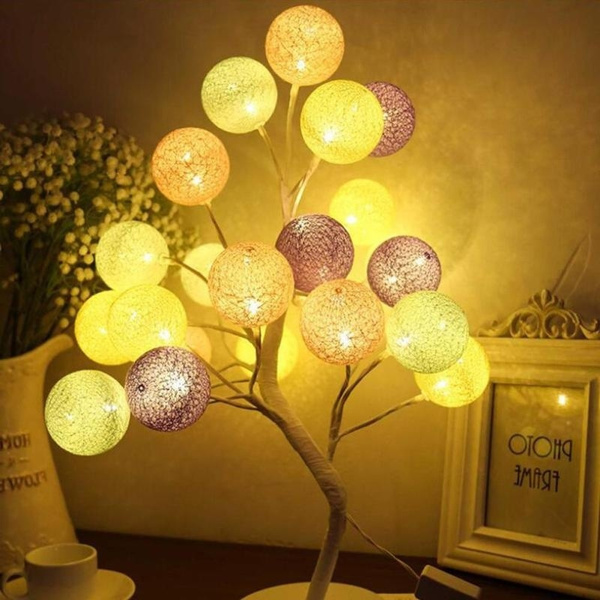 Table Lamp Colorful Night Light 24 Led