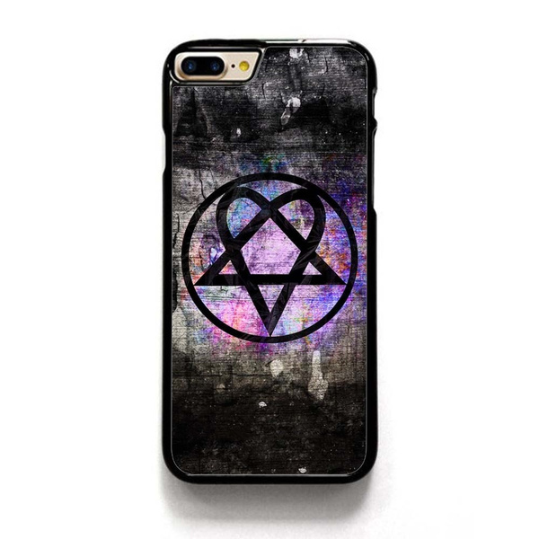 Him Heartagram Symbol Phone Case For Iphone 4 5s Se 6 6s 7 8 Plus 10 X Cool  Original Cases Hard Back For Samsung Galaxy S5 S6 S7 Edge Note 4 Note 5