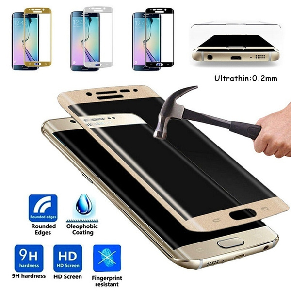 0 2mm 3D Full Coverage Curved Tempered Glass Protector Film for Samsung  Galaxy S7 Edge/S7 /S8 Plus/S8 /S9 /S9 Plus /S6 Edge/ S6 Edge Plus/ Note 8