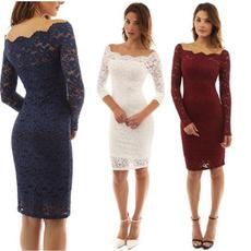 Club Dress, Lace Dress, Encaje, Chiffon Dresses