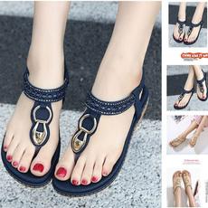 bohemia, casual shoes, Flip Flops, Sandals