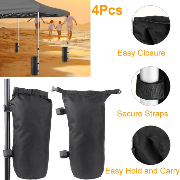 the best attitude 21341 50f52 Universal Windproof Weight Bag Sand Bag for Outdoor Shelter Pop Up Canopy  Tent Leg Tent Accessories
