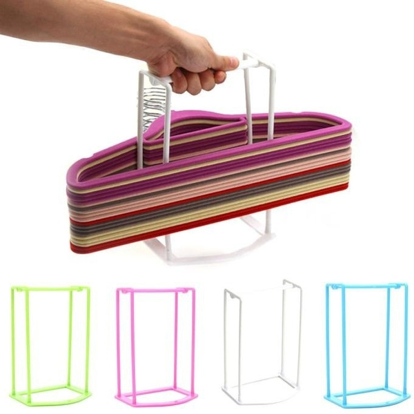 Plastic, storagerack, Hangers, homeampliving