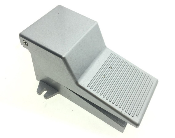 Gray Metal 2 Position 3 Way Momentary Foot Pedal Operated Valve Air Switch uxcell a12071200ux0074
