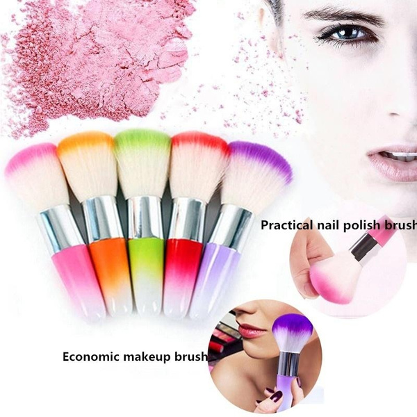 Vogue Nail Art Dust Cleaner Acrylic Uv Gel Nail Dust Brush Dust