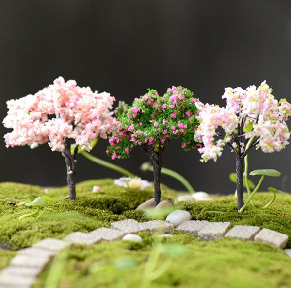 Bonsai, Mini, Flowers, Gardening