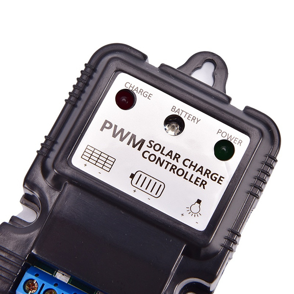 Wish | 6V 12V 10A Auto Solar Panel Charge Controller Battery