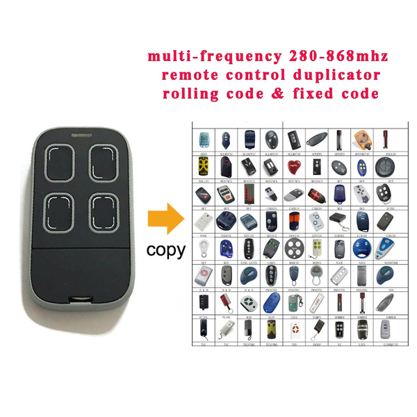 MultiFrequency Universal Garage Remote Duplicator Rolling Fixed code ALL IN ONE